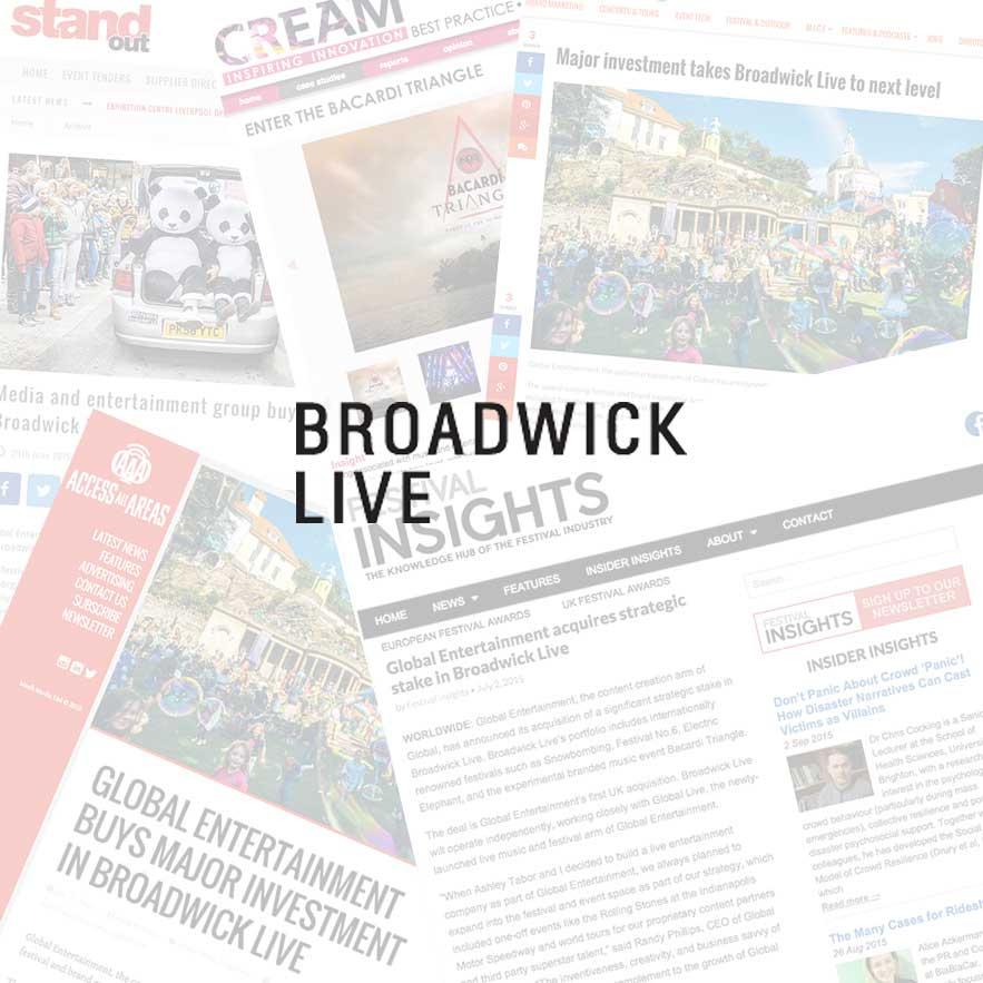 Broadwick Live