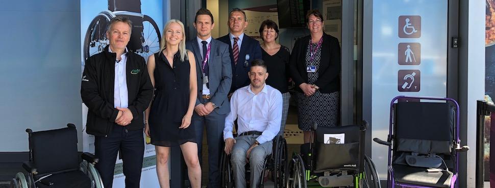 OmniServ launches innovative wheelAIR trial at Edinburgh Airport