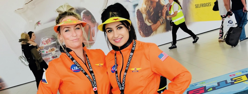 Birmingham Airport teams up with Blackjack Promotions for SkyZone relaunch