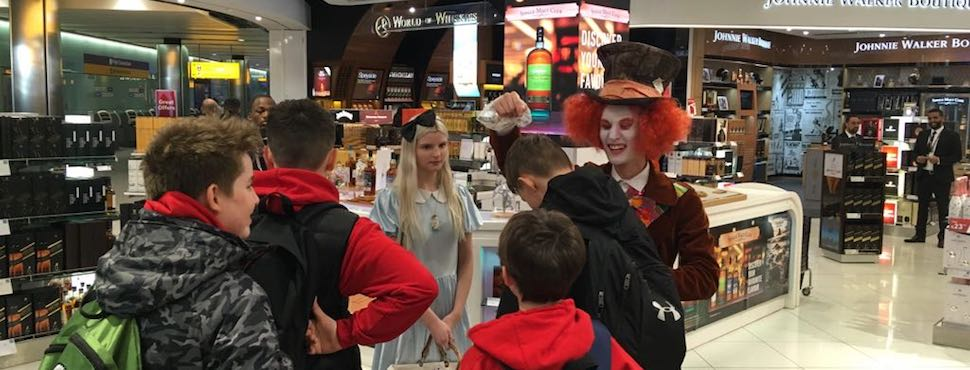 Play, imagination and creativity… the secret to brand storytelling in travel retail