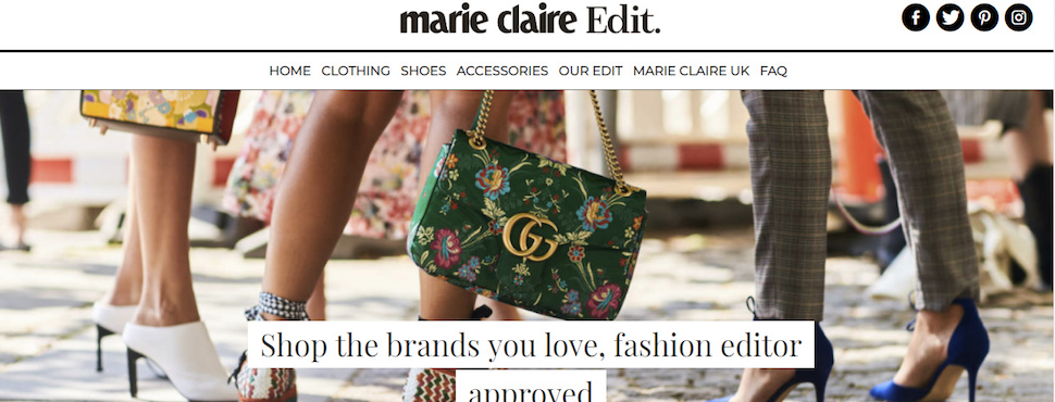 Marie Claire continues retail expansion with launch of Marie Claire Edit shopping platform