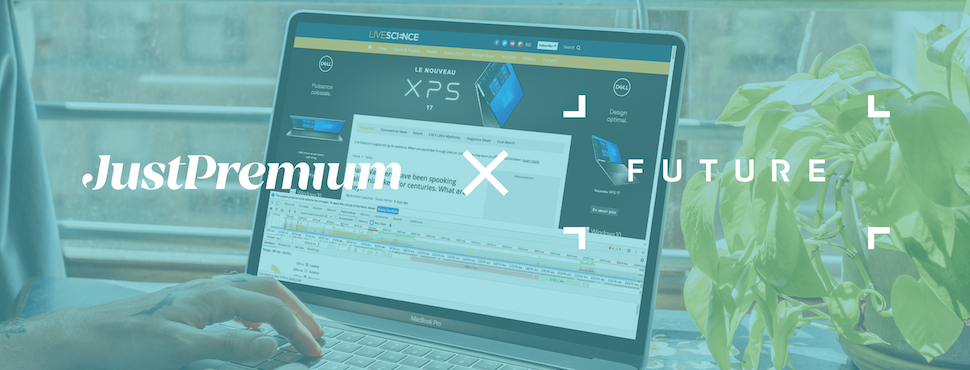 JustPremium and Future Plc partner for extensive testing on Google's Web Vitals initiative