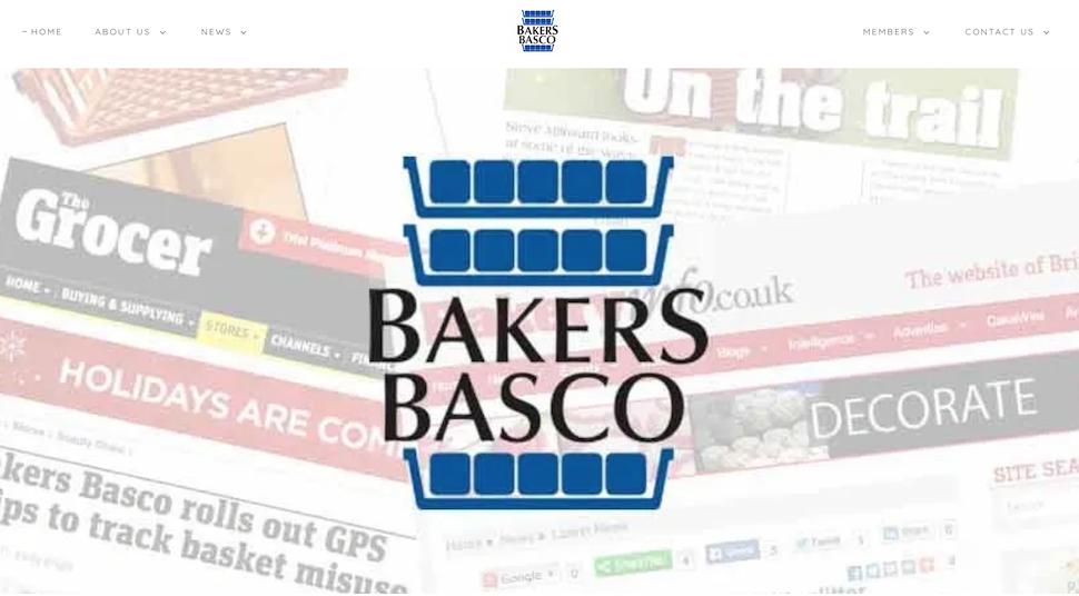 KLPR designs new Bakers Basco website
